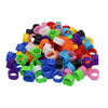 Pigeons-Rings Training-Supplies 1000pcs Bayonet Opening Color 8mm/10mm