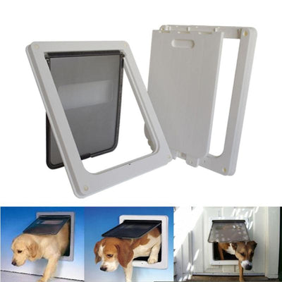 Gate Flap-Door Door-Free Closure Pet-Dog Access Frame