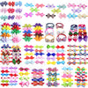 Bows-Accessories Pet-Products Dog-Ties Grooming Adjustable Cat 120pcs Mixed-Styles