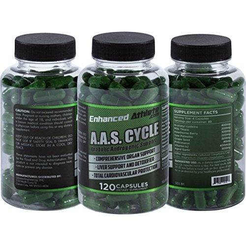 A.A.S. Total Support™ Formula (Cycle Support) - Enhanced Athlete Store