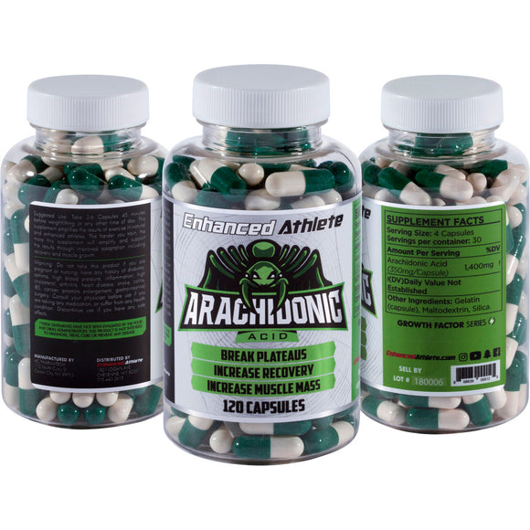 Enhanced Arachadonic Acid Natural Muscle Builder - Enhanced Athlete Store