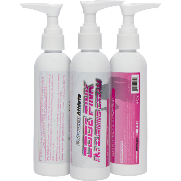 Code Pink Fat Burning Cream (Not For Sale in USA) - Enhanced Athlete Store