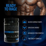 RAGE High Stim Preworkout Blueberry Lemonade (30 Full Servings) - Enhanced Athlete Store