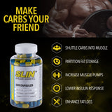 Slin Extreme Nutrient Partitioner™ (Shuttle Carbs Into Muscle) - Enhanced Athlete Store