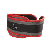 LiftTech Dip Belt Red/Grey - Enhanced Athlete Store
