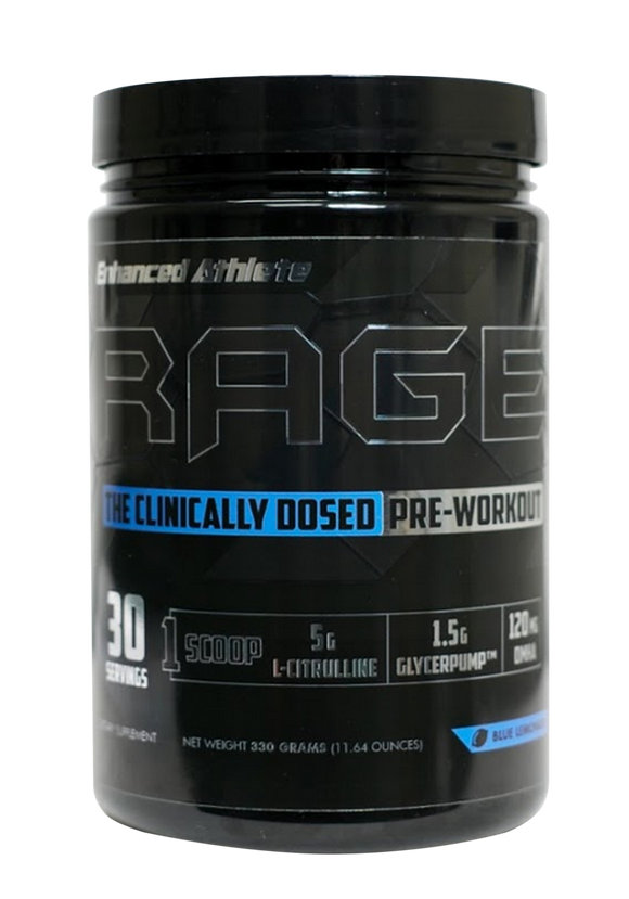 RAGE High Stim Preworkout (30 Full Servings) - Enhanced Athlete Store