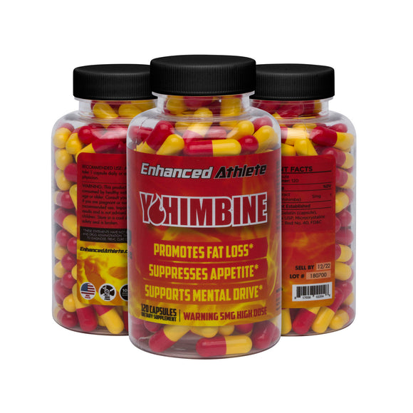 Yohimbine Stubborn Fat Burner - Enhanced Athlete Store