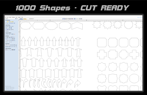 Cut Ready Sign Shapes