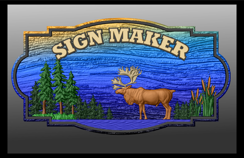 Sign Shape Vector Collection DXF