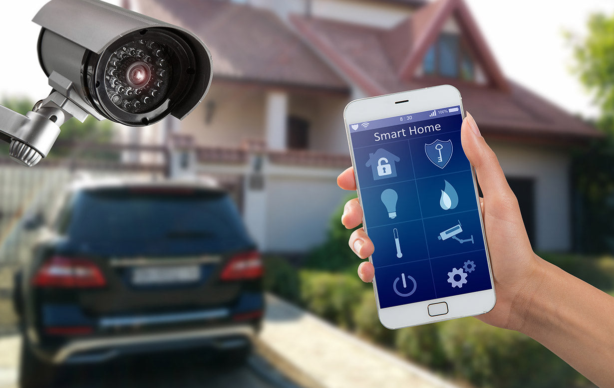 The smart home security