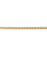 Gold Plated Box Metal Chain