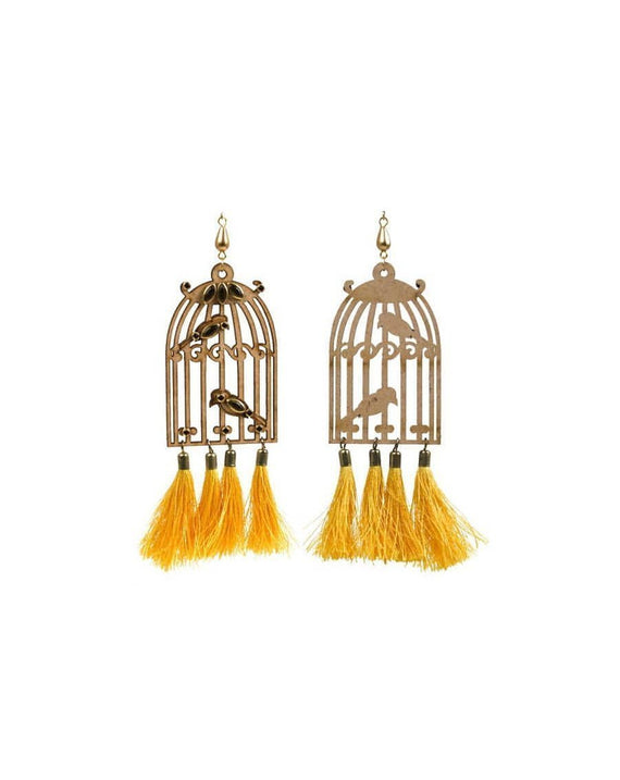 Omera Tassel - Yellow