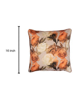 Rose Flower Cushion Cover
