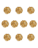 Handmade Gota Flower Patch-Golden