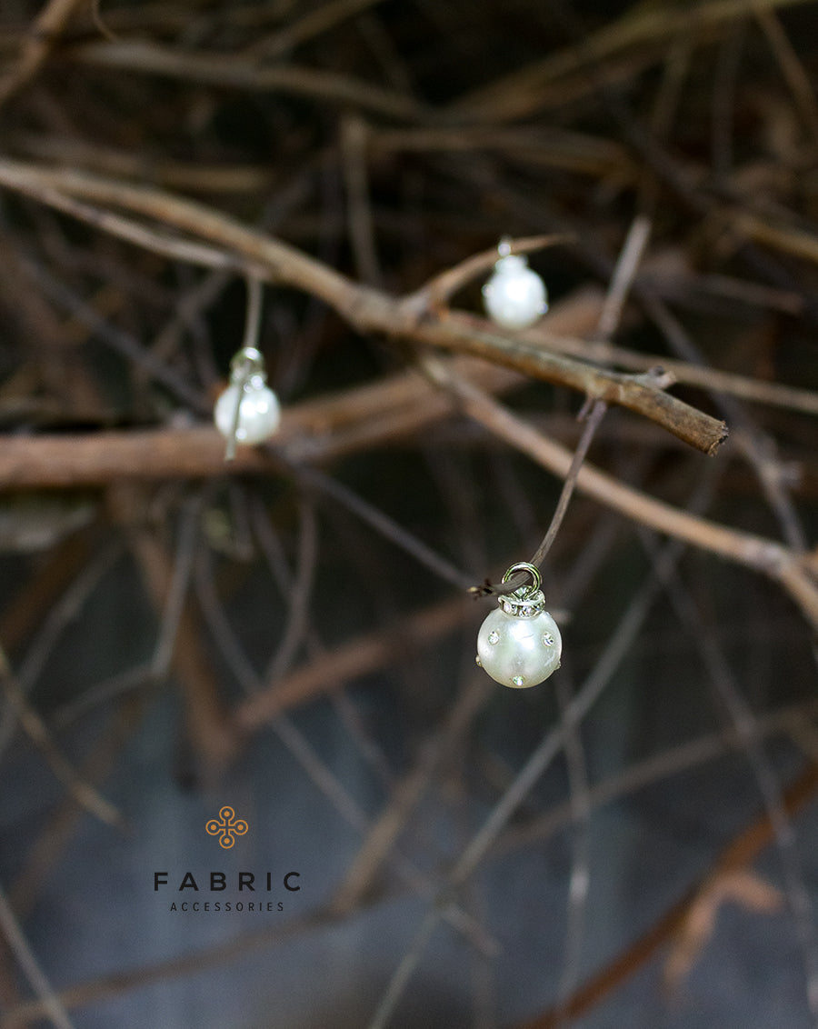 Sirin - Silver Pearl Buttons