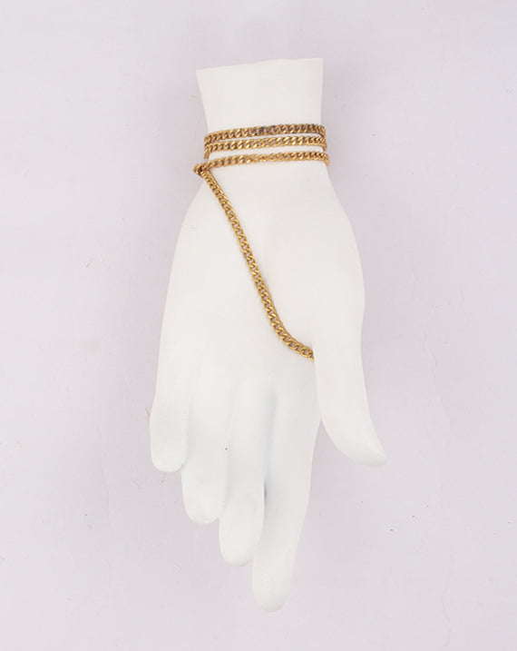 Gold Plated small Cable Metal Chain