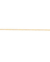 Bright Gold Plated small Cable Metal Chain
