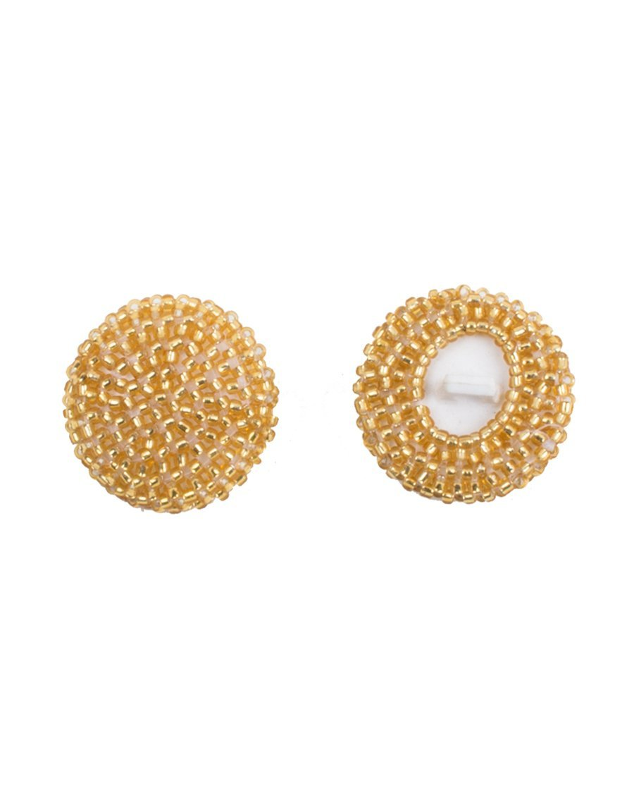 Aasia - Gold Pearl Buttons