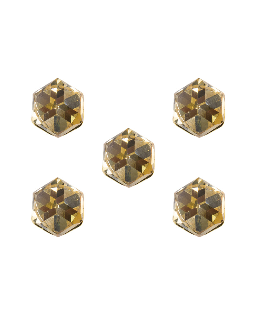 Gulbar - Golden Crystal Buttons