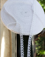 Rashi Lace - White
