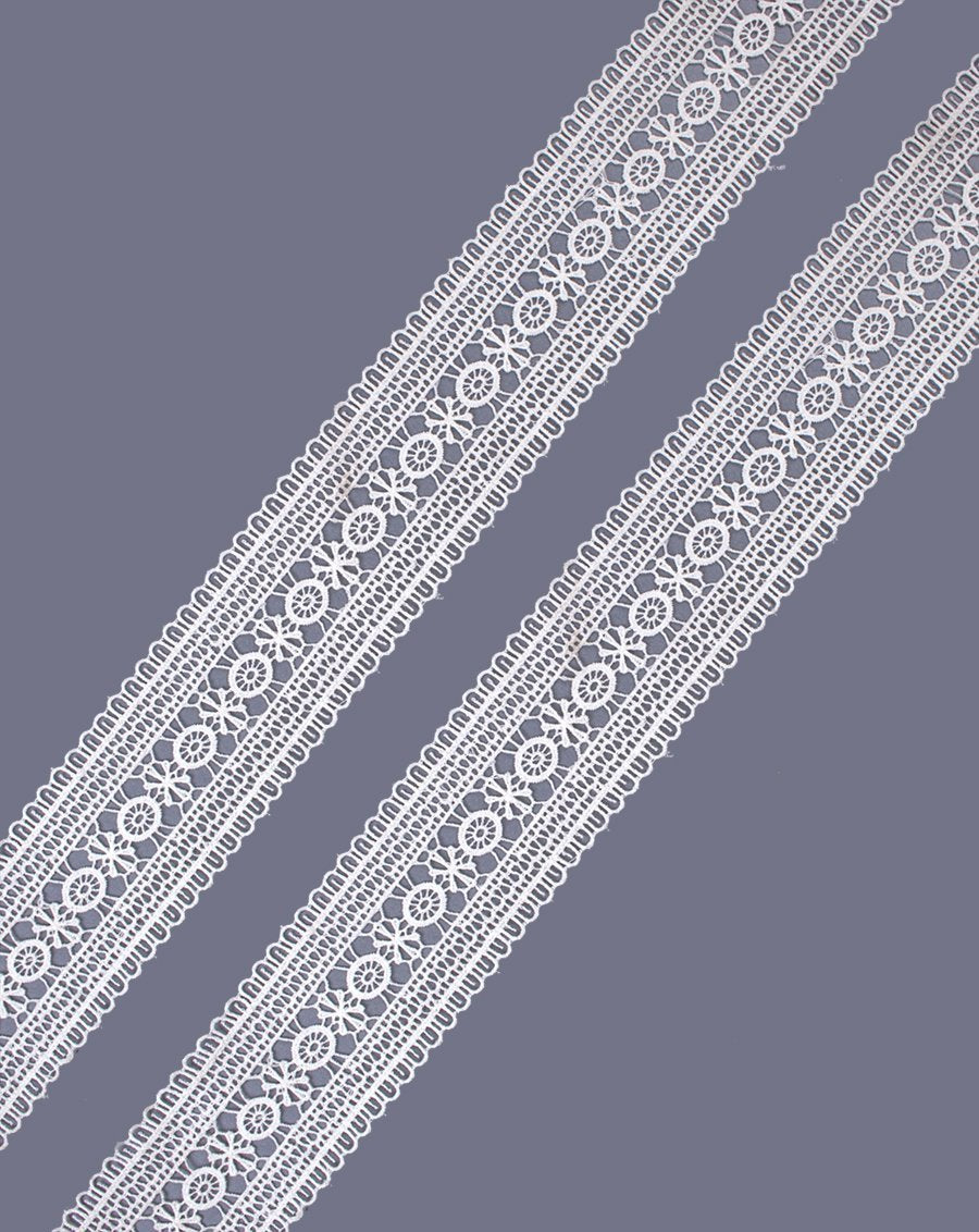 Awin-White Cotton Chemical Lace