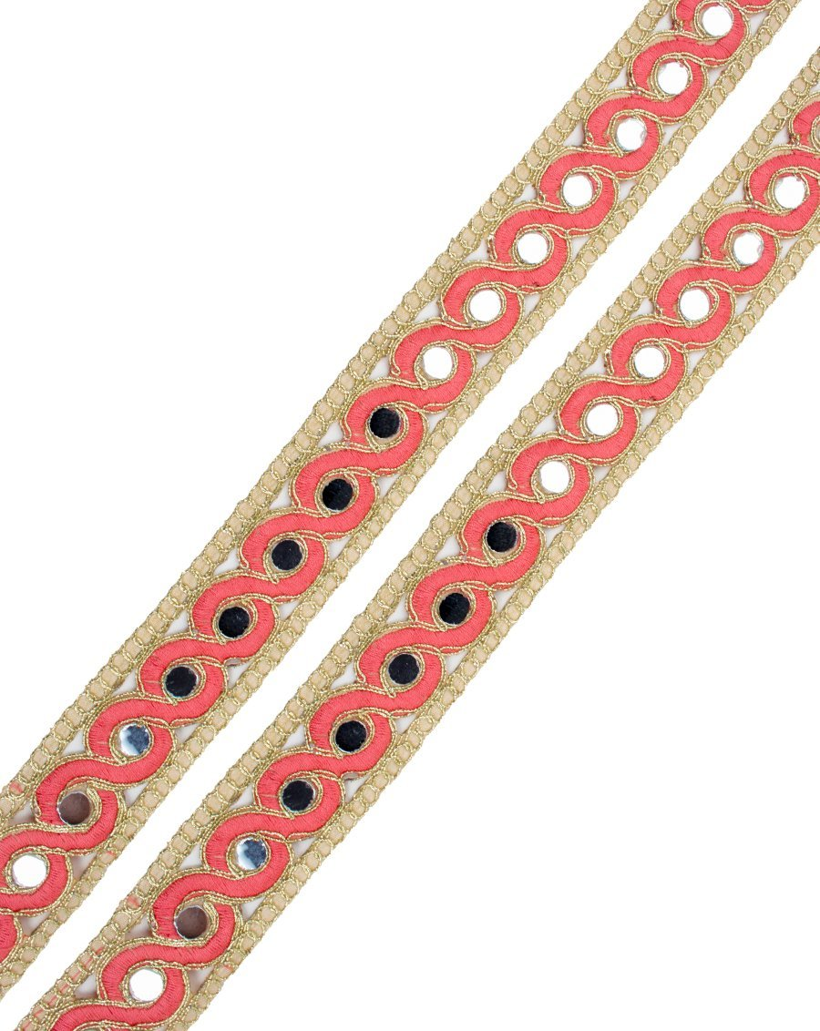 Khaar Lace - Peach