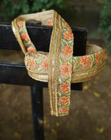 Musalsal Lace - Red & Green