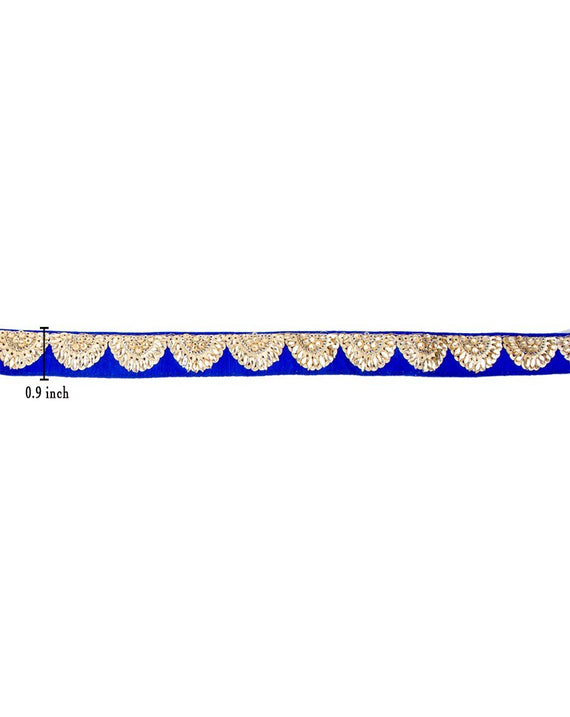 Rukhsar Lace - Blue