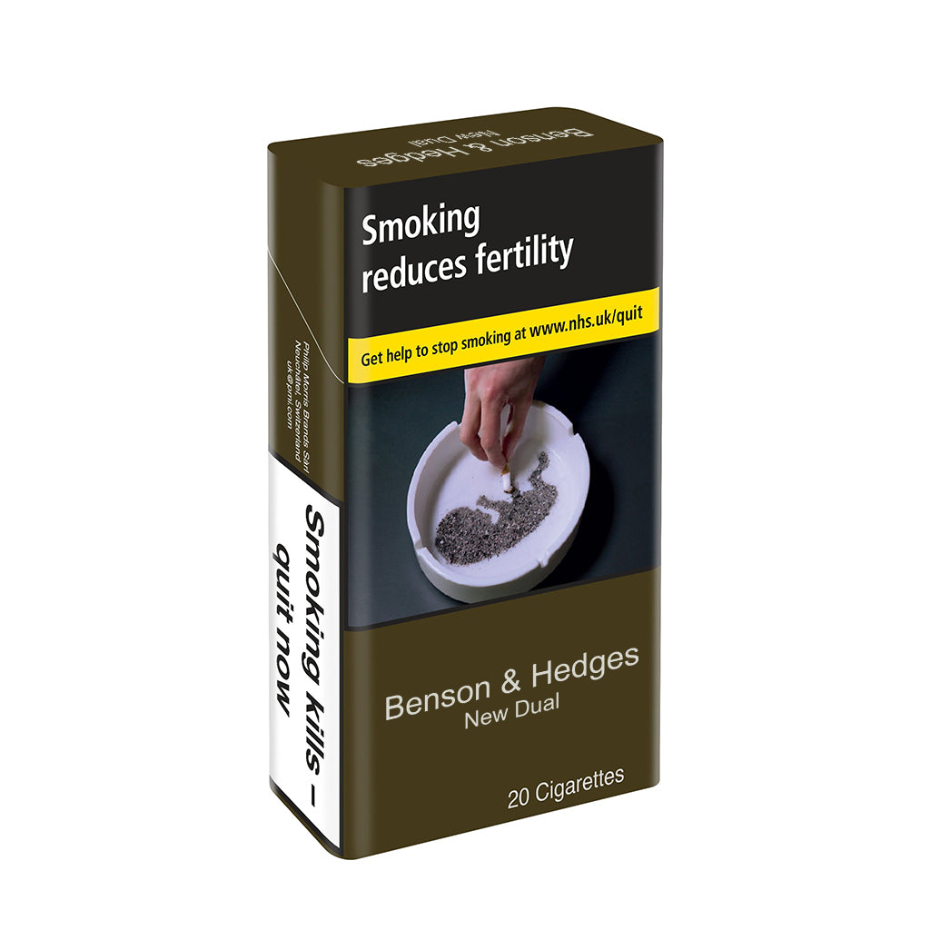 Benson & Hedges New Dual King Size 20 Pack