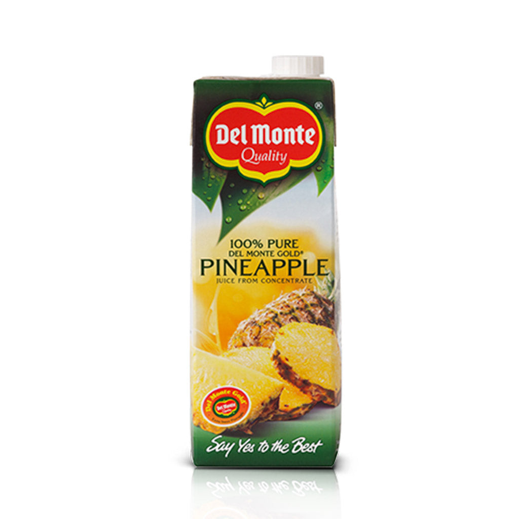 Del-Monte 100%  Pineapple Juice 1 lt from concentrate