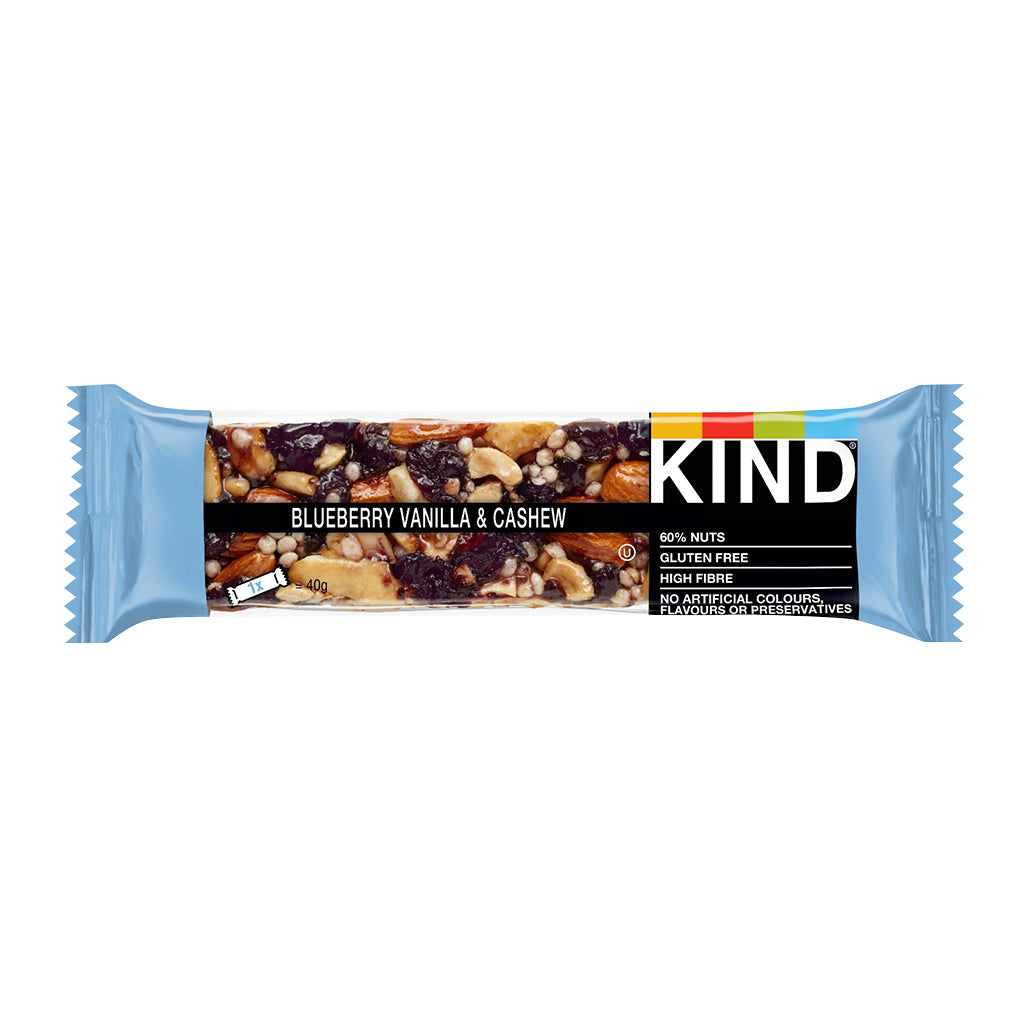 KIND - Blueberry Vanilla & Cashew