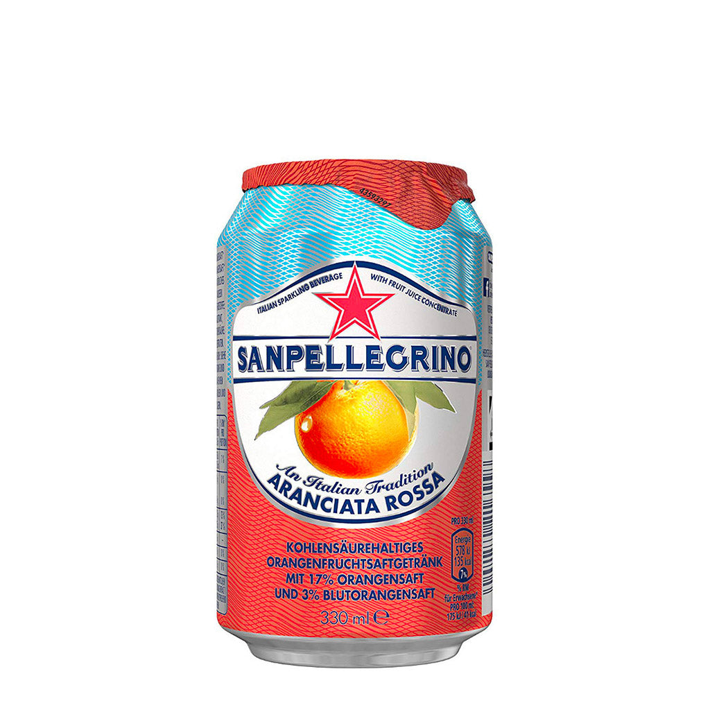 Sanpellegrino - Blood Orange can 330ml