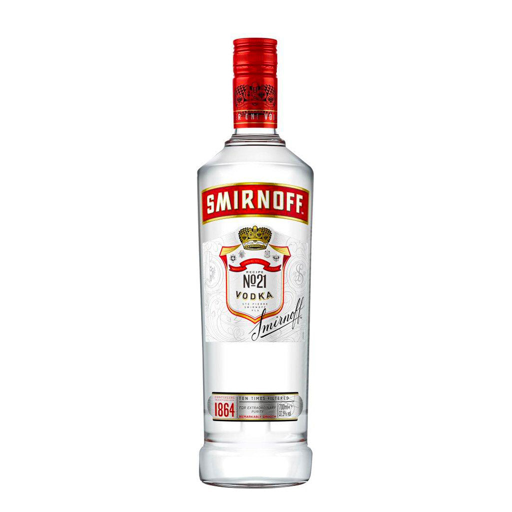 Smirnoff Red Label Vodka 70 cl
