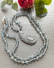 Load image into Gallery viewer, Feather Talisman Necklace