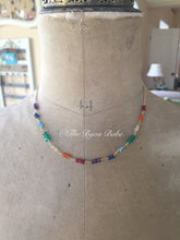 Load image into Gallery viewer, Rainbow Gemstone Necklace MADE TO ORDER