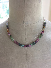 Load image into Gallery viewer, Tourmaline Briolette Necklace