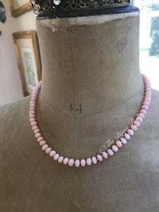 Pink Opal Candy Necklace #2