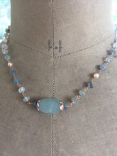 Load image into Gallery viewer, Aquamarine Necklace