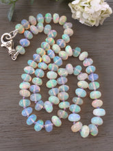 Load image into Gallery viewer, Ethiopian Opal Necklace Smooth Polished Opals