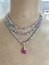 Load image into Gallery viewer, Custom Order for Linda- Sugar Plum Necklaces