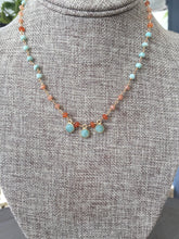 Load image into Gallery viewer, Amazonite Disc Necklace
