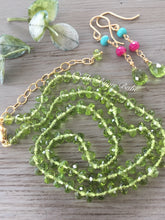 Load image into Gallery viewer, Peridot Candy Necklace