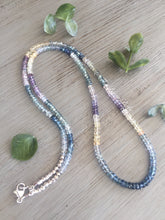Load image into Gallery viewer, Multi Sapphire Necklace