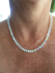 Layaway for L 14kt Gold Ethiopian Opal Necklace