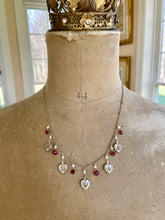 Load image into Gallery viewer, Reserved for Bev-Vintage Swarovski Crystal Heart Necklace