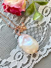 Load image into Gallery viewer, Blush Baroque Pearl Pendant