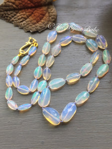 Ethiopian Opal Nugget Necklace