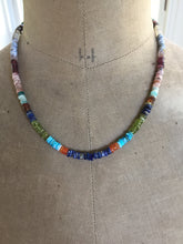 Load image into Gallery viewer, Multi Gemstone Color Wheel Necklace-Reserved for Celina