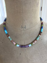 Load image into Gallery viewer, Multi Gemstone Color Wheel Necklace-Reserved for Michele