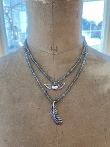 Feather Talisman Necklace